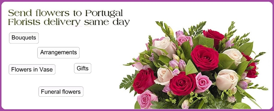 Flowers to Portugal