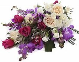 Sheaf flowers - Condolence