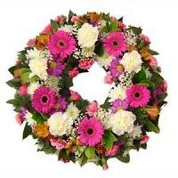 Round-wreath - Funeral