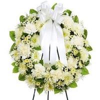 Flower wreath Mournful